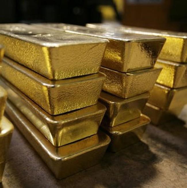 Giá vàng trượt xuống 1.381USD/ounce