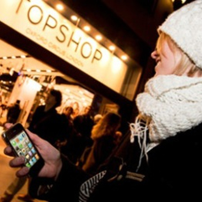 Smartphone làm thay đổi thói quen mua sắm