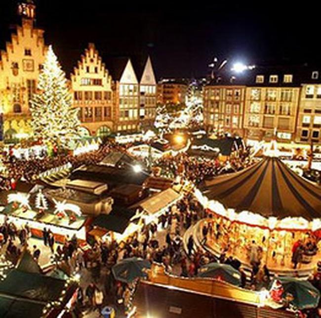Những phiên chợ Giáng Sinh nổi tiếng khắp Châu Âu