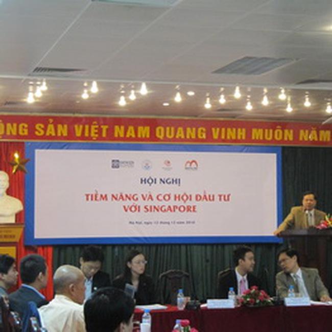 Singapore sẽ đầu tư mạnh vào lĩnh vực bất động sản Việt Nam