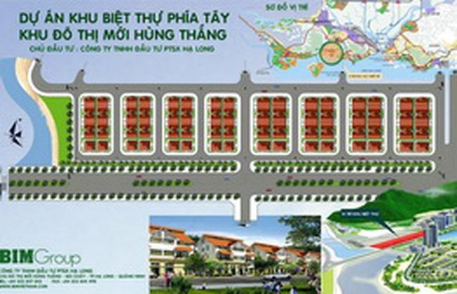 Biệt thự Hùng Thắng – Quảng Ninh có giá từ 16,5-20 triệu/m2