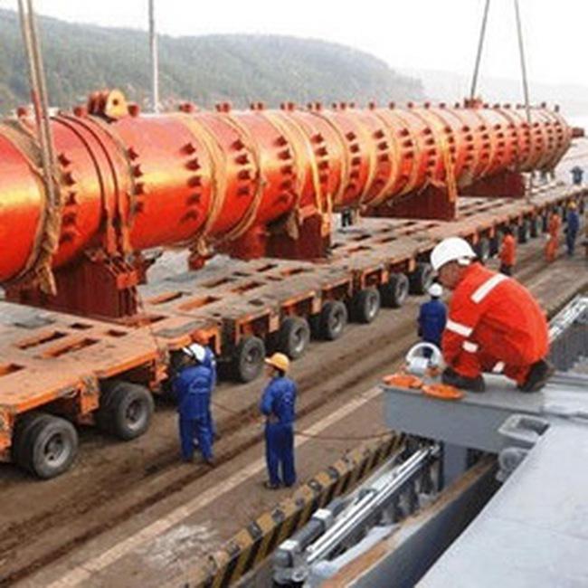 L61: Lắp đặt thành công thiết bị Bao hơi tại Nhiệt điện Vũng Áng