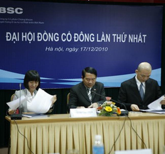 Chứng khoán BSC: Sẽ tăng vốn lên 1.200 tỷ đồng và bán 15% CP cho đối tác chiến lược
