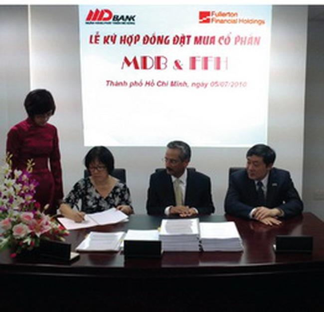 MDB: Bán 15% cổ phần cho công ty con của Temasek với giá 20.000 đồng/cp