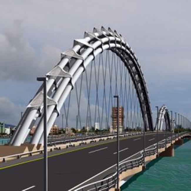 LO5: Ký hợp đồng gói thầu chế tạo kết cấu thép dầm Cầu Rồng, sông Hàn