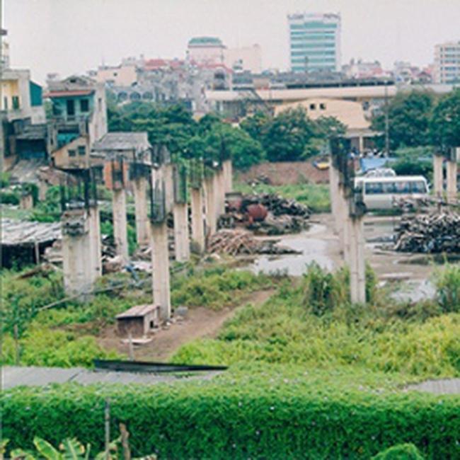 Dự án chợ Đuôi Cá (quận Hoàng Mai, Hà Nội): Khiếu kiện kéo dài - dự án nằm bất động