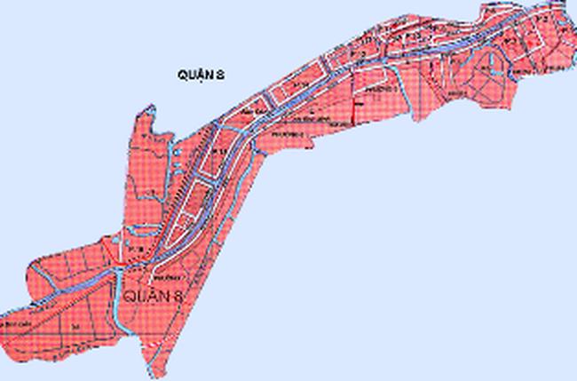 Điều chỉnh quy hoạch quận 8 đến năm 2020