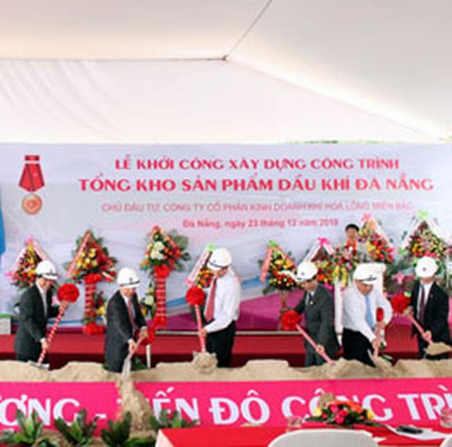 PXM: Khởi công xây dựng Tổng kho Dầu khí Đà Nẵng