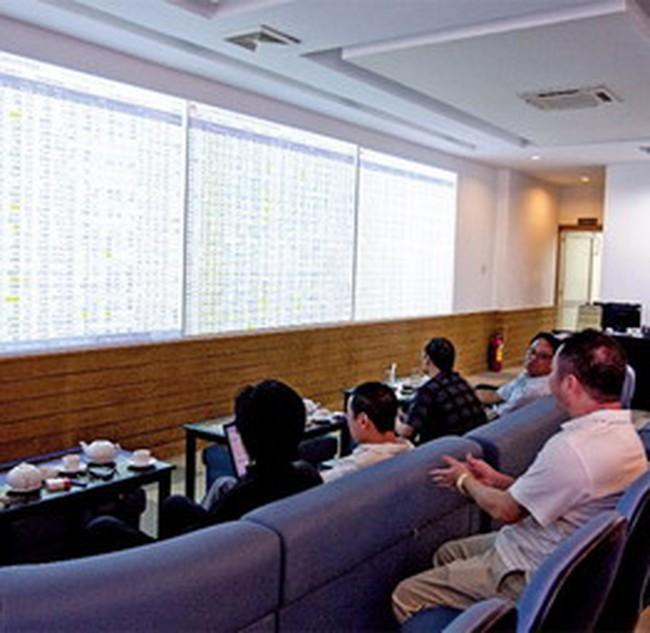 Cổ phiếu OTC không phản ứng với tin niêm yết