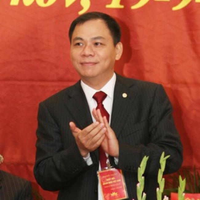 Ông Phạm Nhật Vượng chính thức trở thành người giàu nhất TTCK năm 2010