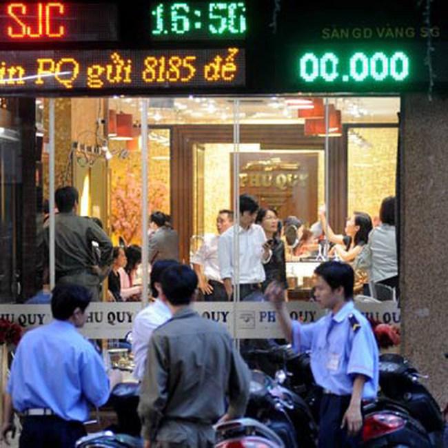 Giá vàng lên 36,14 triệu đồng/lượng, đôla Mỹ dưới 21.000 đồng Việt Nam