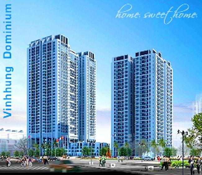 Chấp thuận phương án kiến trúc và mặt bằng Dự án Vĩnh Hưng Dominium