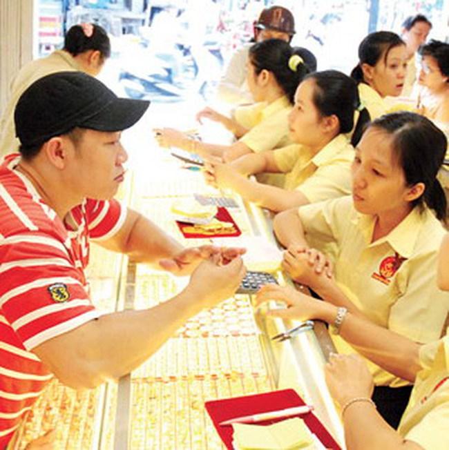 Ngày cuối cùng của năm 2010: Giá vàng dao động quanh mức 36,1 triệu đồng/lượng