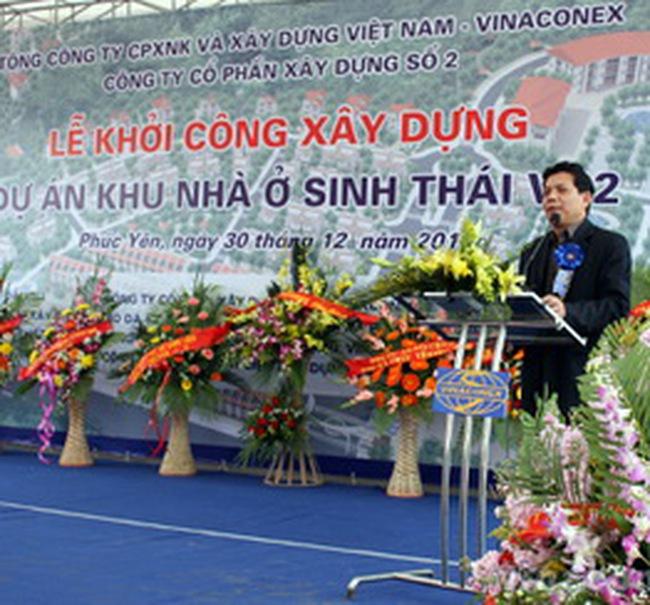 VC2: Khởi công xây dựng Khu nhà ở sinh thái Vinaconex 2
