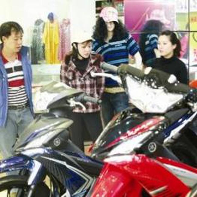 Giá xe máy trên thị trường đang nhảy từng ngày