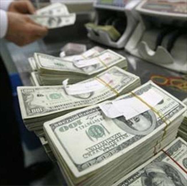 Kho bạc nâng tỷ giá ngoại tệ thêm 1.386 đồng/USD