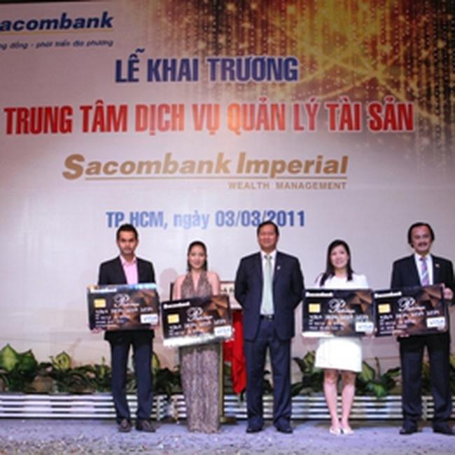 STB: Khai trương trung tâm Dịch vụ Quản lý tài sản – Sacombank Imperial