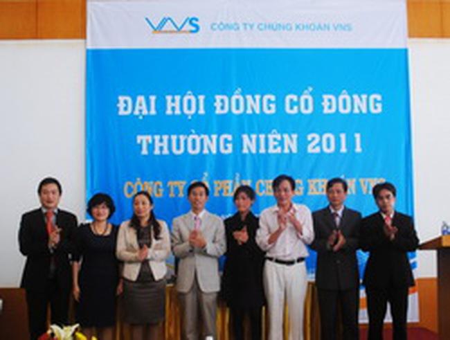 Chứng khoán VNS đăng ký niêm yết tại HNX