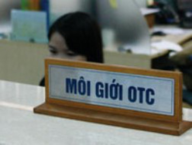 OTC: Cố giữ giá