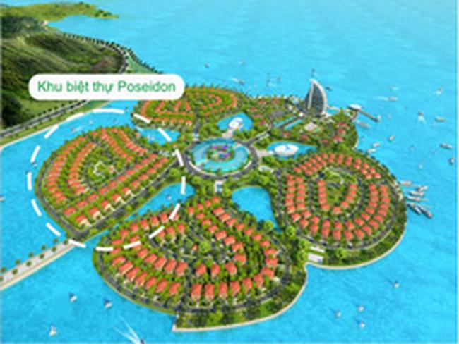 Biệt thự đảo Hoa Phượng, Hải Phòng có mức giá khoảng trên 24 triệu đồng/m2