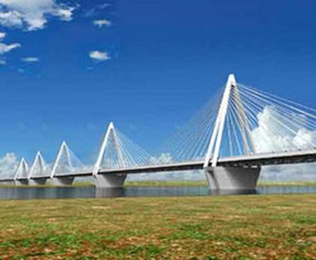 Hà Nội đẩy nhanh tiến độ dự án cầu Nhật Tân và đường nối với sân bay Nội Bài