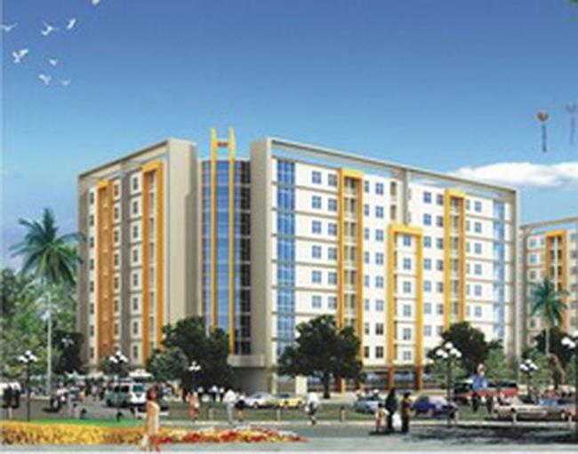 HUD lùi thời hạn khởi công xây dựng 1.450 căn hộ thu nhập thấp