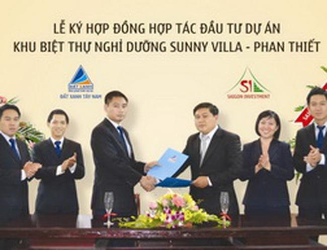Đất Xanh và Saigon Investment hợp tác đầu tư dự án 34 triệu USD tại Mũi Né