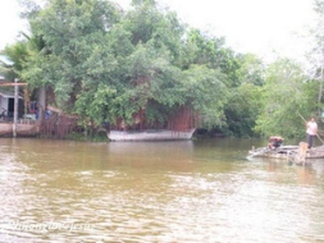 Nước mặn xâm nhập sâu vào sông Vàm Cỏ Đông