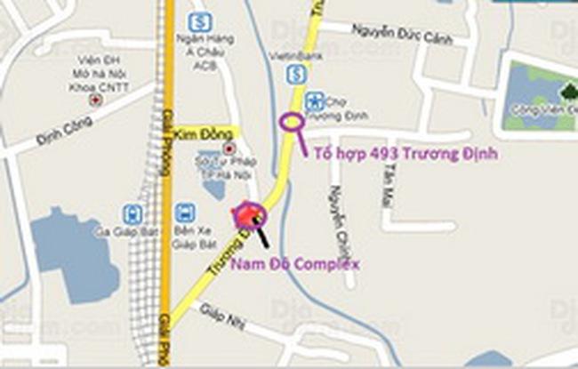 Thêm dự án Tổ hợp 484 căn hộ tại quận Hoàng Mai