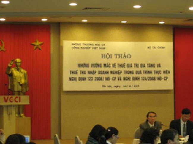 Còn nhiều vướng mắc trong thực hiện thuế GTGT và thuế TNDN