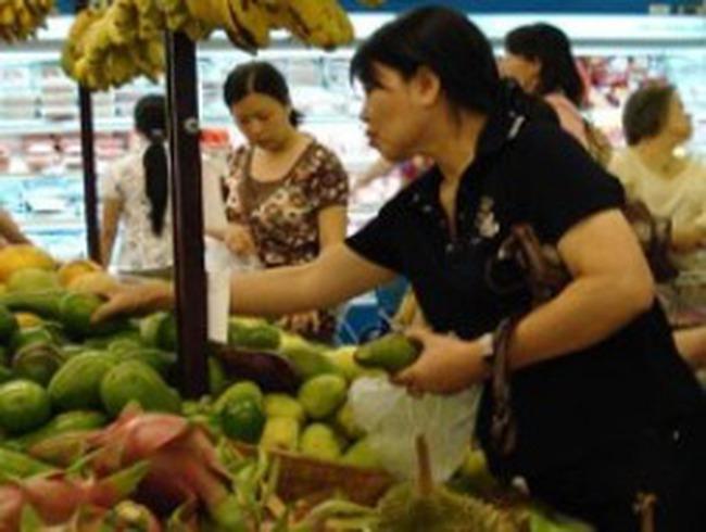 Giá thực phẩm tăng ở các chợ lẻ