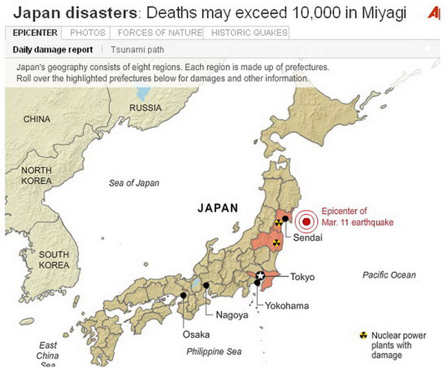 5 trận động đất gây thiệt hại tài chính lớn nhất trong lịch sử nhân loại