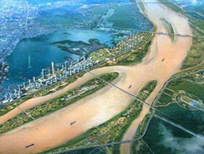 BĐS ven sông Hồng: Thận trọng