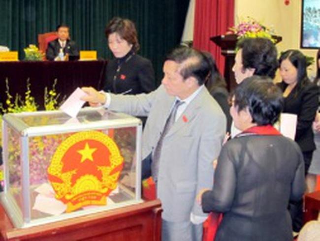 Bà Ngô Thị Thanh Hằng thôi chức Phó chủ tịch UBND Thành phố Hà Nội