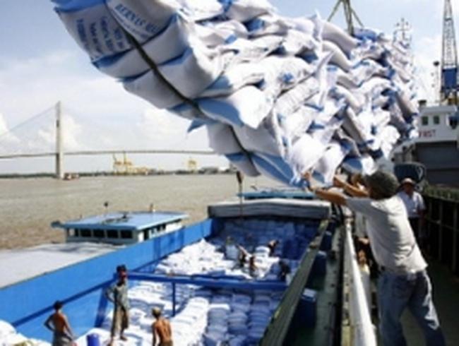 Các tỉnh ĐBSCL xuất khẩu trên một triệu tấn gạo