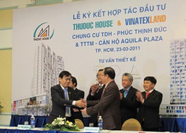TDH:  Hợp tác đầu tư 2 dự án trị giá gần 1.700 tỷ đồng với Vinatex Land
