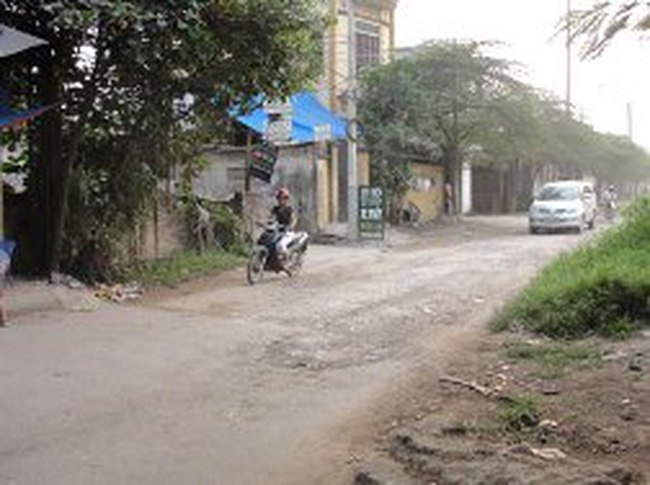 2.000m2 đất ở Thanh Trì đang bỏ hoang