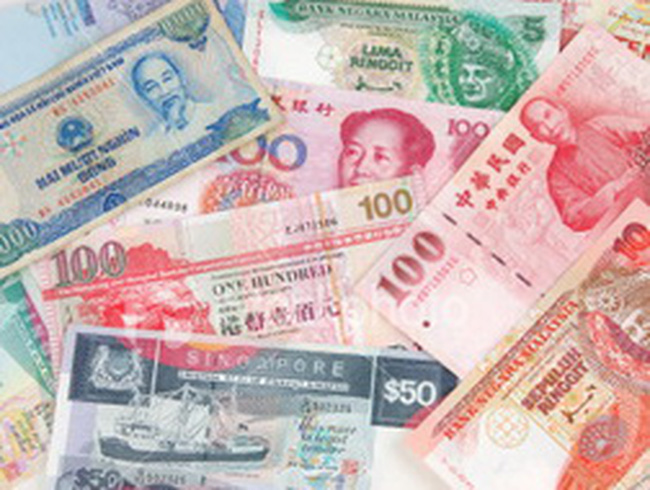 Các đồng tiền Châu Á lên giá mạnh nhất từ đầu năm