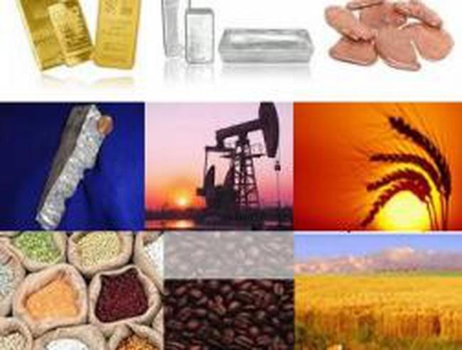 Phiên giao dịch 25/3: Giá hàng hoá đồng loạt giảm