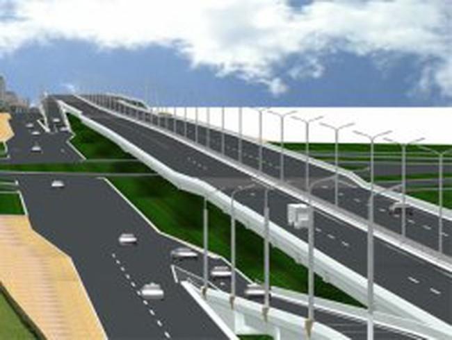 Cao tốc đô thị trên cao đầu tiên ở Việt Nam