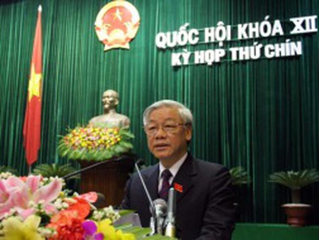 Quốc hội bầu nhân sự cấp cao vào tháng 7