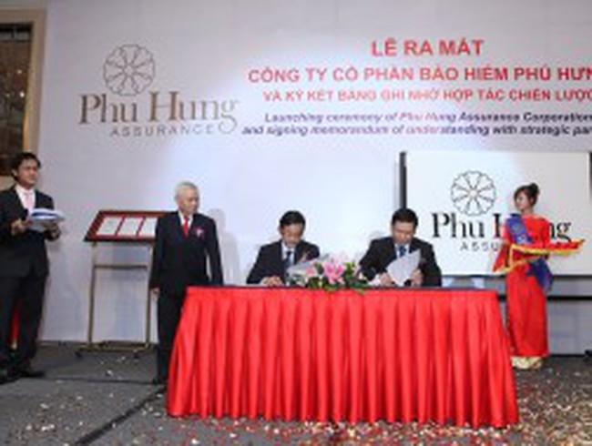 Bảo hiểm Phú Hưng ký kết hợp tác với 4 đối tác