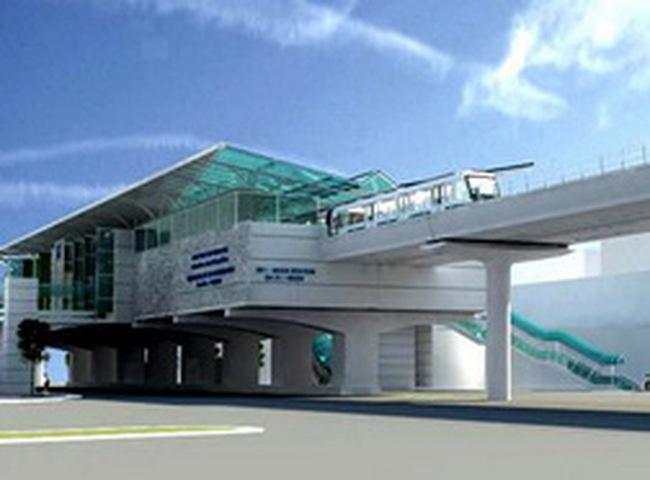 1 tỷ USD đầu tư cho tuyến đường sắt đô thị Nhổn – Ga Hà Nội