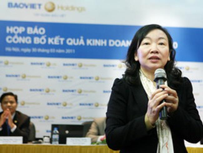 BVH: LNTT hợp nhất năm 2010 đạt 1.255 tỷ đồng, chỉ tăng 1% so với năm 2009