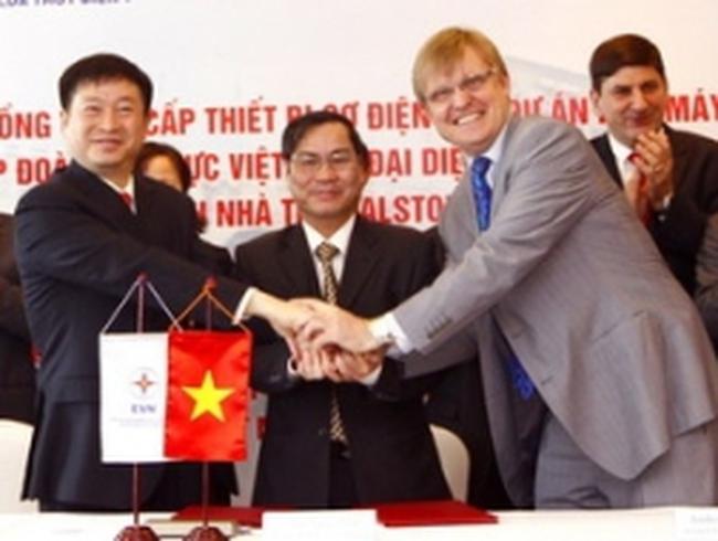 EVN ký hợp đồng 65,2 triệu USD gói thầu thủy điện Huội Quảng