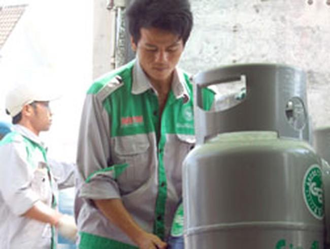 Gas tiếp tục tăng thêm 5.000 đồng/bình 12kg