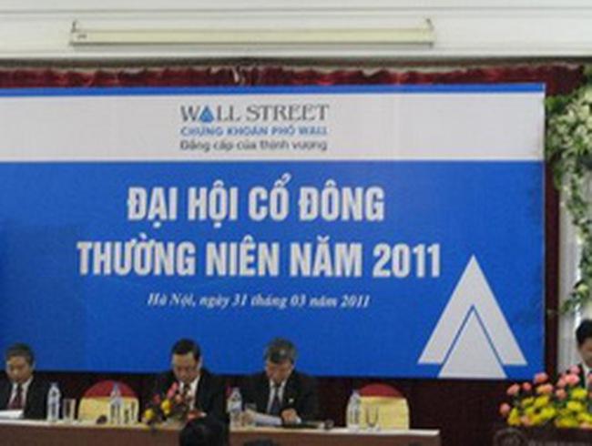 WSS: Năm 2011 tập trung vốn cho 3 dự án bất động sản tại Đại La, Ngọc Lâm, Đức Giang