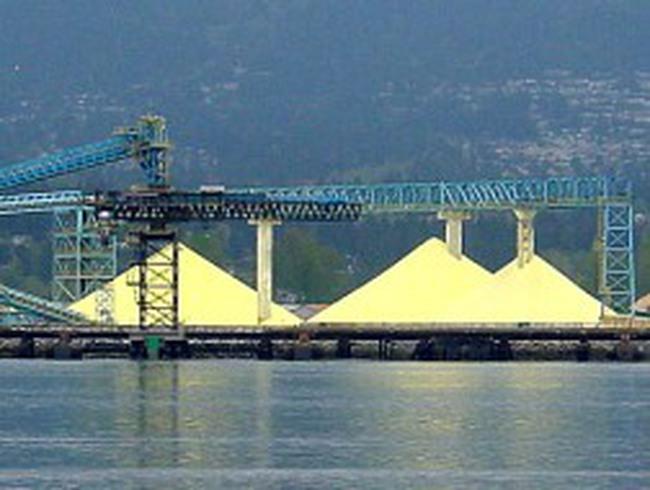 UAE sẽ vượt Canađa trở thành nhà xuất khẩu lưu huỳnh lớn nhất thế giới