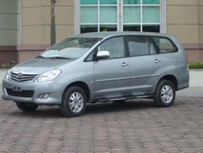 Toyota Việt Nam: hơn 8.800 xe Innova có thể bị lỗi