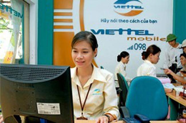 Tập đoàn Viettel có vốn điều lệ 50.000 tỷ đồng